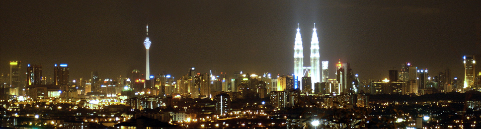 KL City Night View