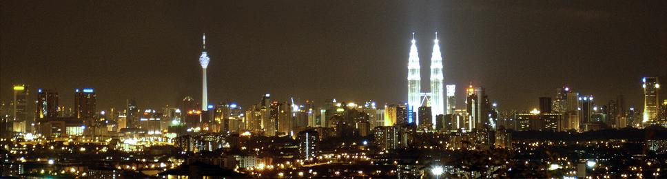 KL City Night View